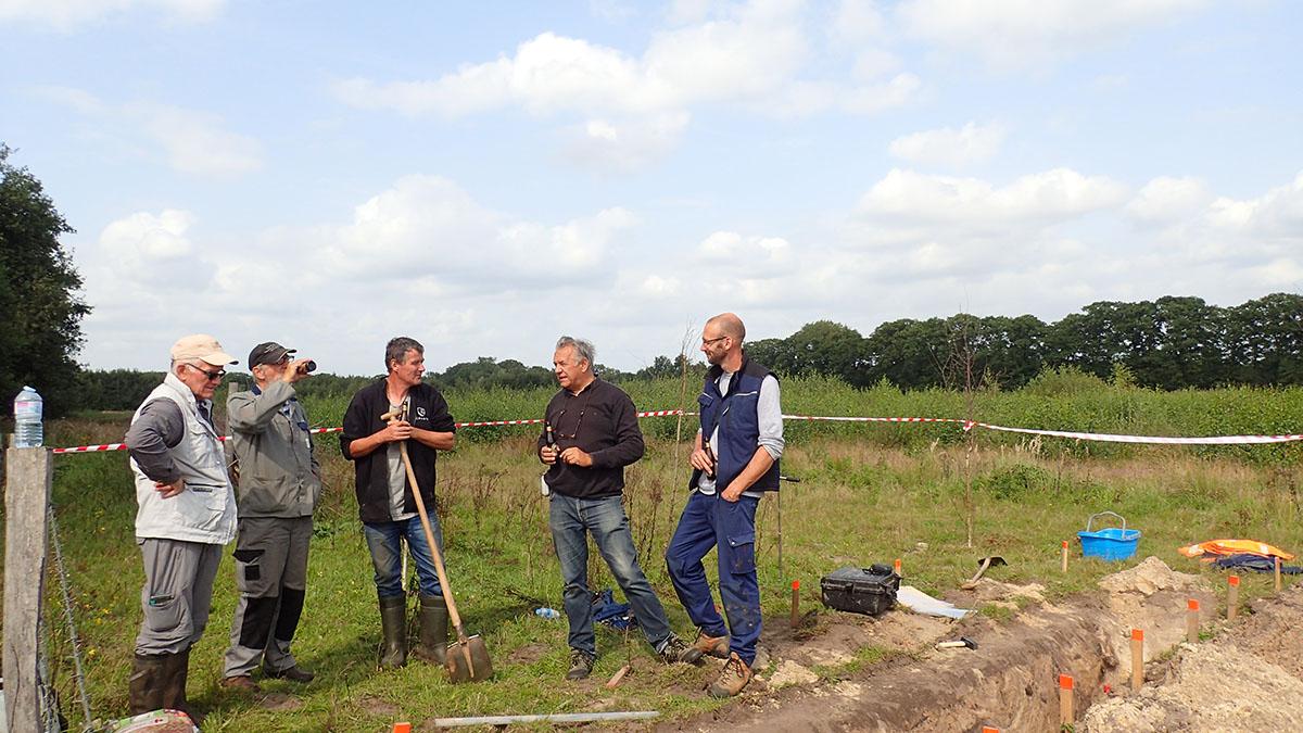 Archeologisch onderzoek van de Bocholter Graven