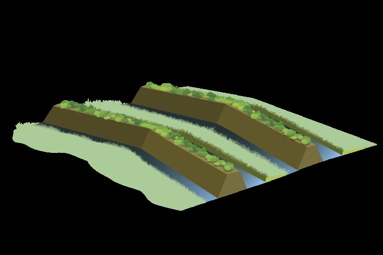 De Bocholter Graven, een Middeleeuws landweer